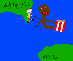 yeeting immigrants back to Africa