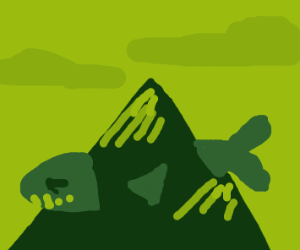 mountain shark thing