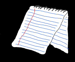 A notepad