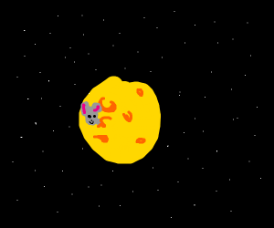 Cheese planet