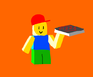 roblox man makes pizza