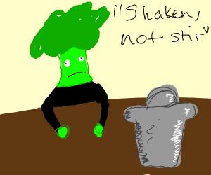 Mr Broccoli likes it shaken.. Not stirred