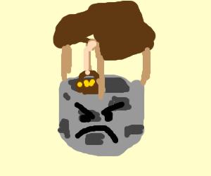 angry wishing well