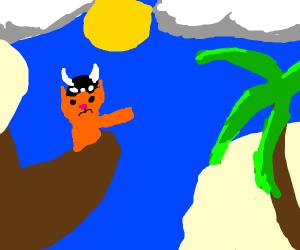 Viking cat found land