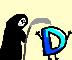 Death comes after drawception D