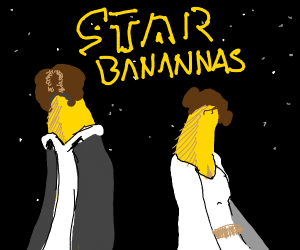Star Wars, but with bananas