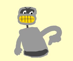 Bender says: Bite my shiny metal ass