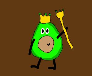 King Avocado himself