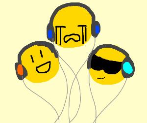 Emojis jamming