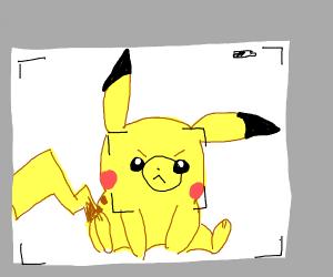 pikachu wont smile