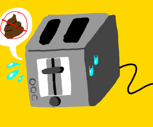 Constipated toaster