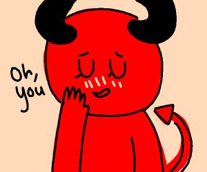 blushing demon