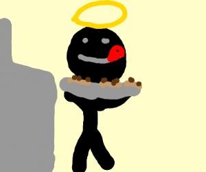 Jesus Baking