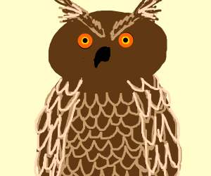Owl (brown)