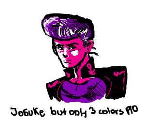 Josuke but only 3 colors P.I.O