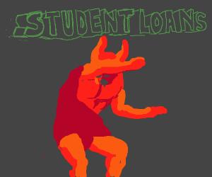 Student loan debt scares the devil
