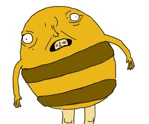 Team Bee mascot