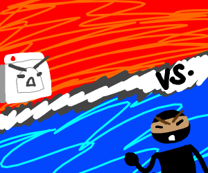 Ninja vs Washing machine
