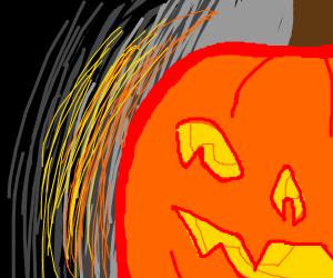 Carved Jack o'lantern