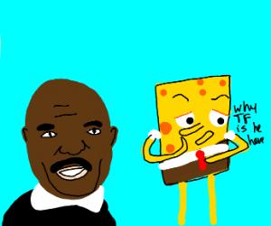steve harvey cameos in spongebob