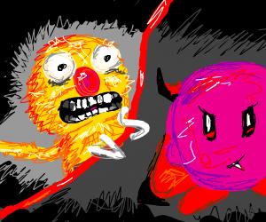 Yellmo Vs Vampire Kirby