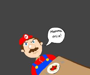 guy hates spaghetti