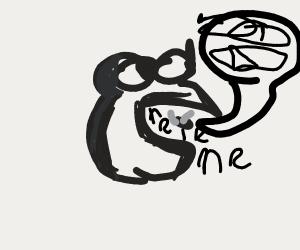 froggy boi eats fly boi