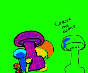 Homophobic Mushroom