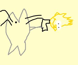 Catfish firing Bart
