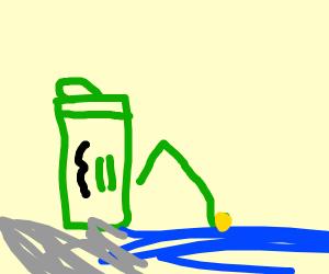 Energy Drink Fisherman