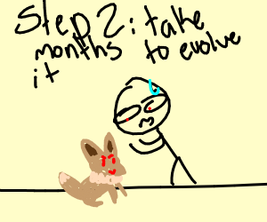 step one catch an eevee