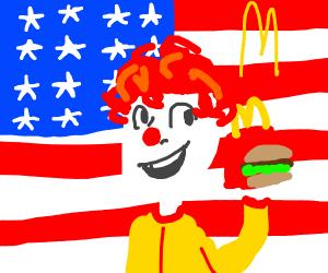 American patriotism and mcdonalds
