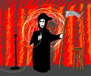 Grim Reaper Comdian