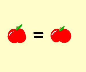 Apple = apple