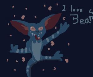 gremlin likes beans