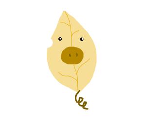Pig leaf