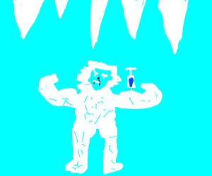 A Jacked Yeti