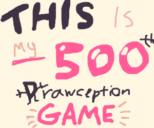 Congrats on your 500th game