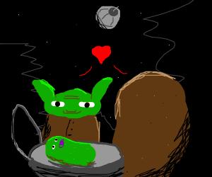 Potato Yoda