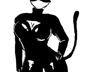 sexy cat woman