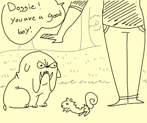Doggie! You are the good boi!