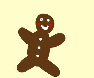 Smiling Gingerbread