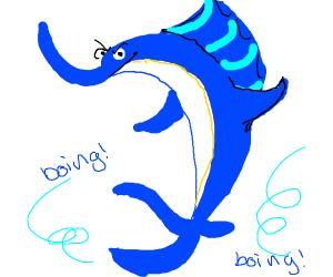 Swordfish Bouncing