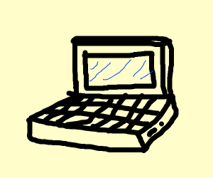 Old School Laptop