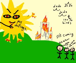 Here comes the Sun(dododod) Little Darlin'