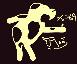 Cow does algebra