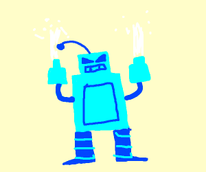 an ice robot