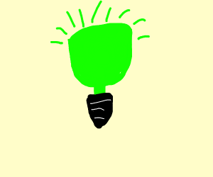 radioactive light bulb