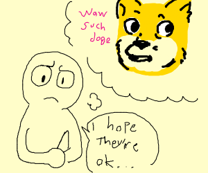 someone worried about doge