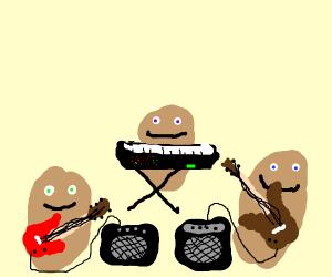 potato band
